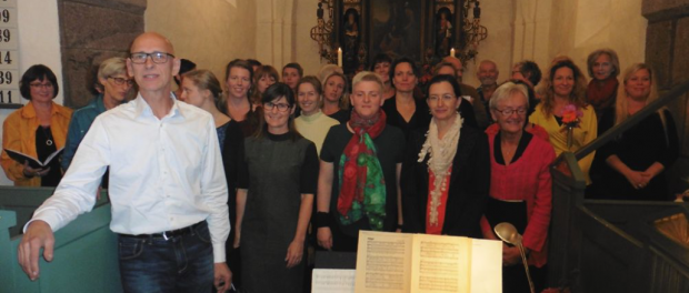 Mørke Rytmer og dirigenten Mikael Schildt Rasmussen