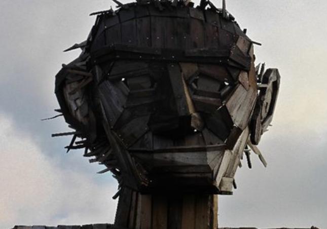 Mørkemandens ansigt er blevet restaureret